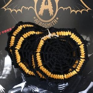 Large Spider Web Coasters
